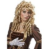 Damen Perücke Barock Marquise Korkenzieherlocken Karneval Fasching