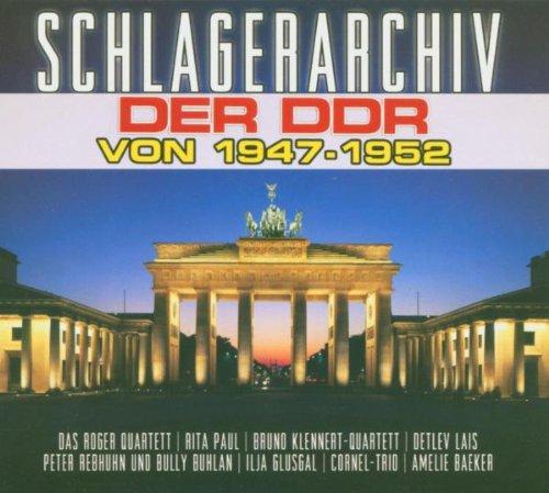 Schlagerarchiv der DDR von 1947 - 1952