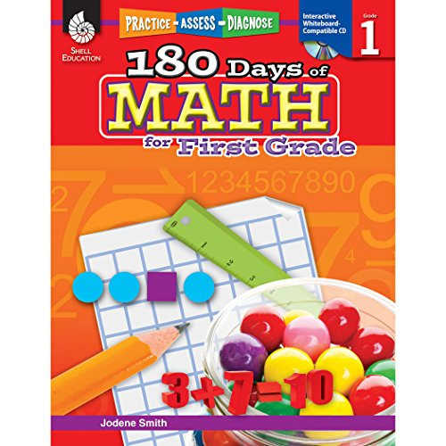 180 Days of Math for First Grade: Practice, Assess, Diagnose (180 Days of Practice) por Jodene Smith