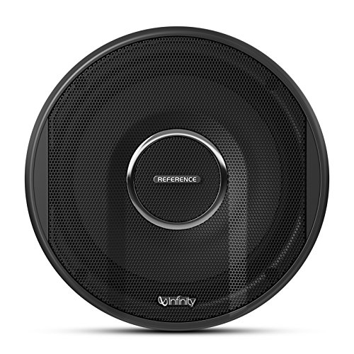 Infinity Car Reference 6500CX Series 2-Way In-Car Audio Component Speaker with Included Mounting Adapter Ring (6-1/2``, 165 mm) - Black