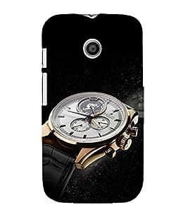 EPICCASE times now Mobile Back Case Cover For Moto E (Designer Case)
