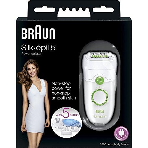 Imagen 5 de Braun Silk-épil 5 5580 Legs, Body & Face