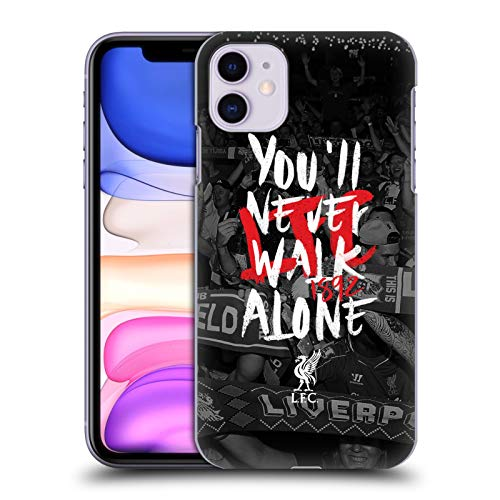 Head Case Designs Offizielle Liverpool Football Club Kop 6 Du Wirst Nie Alleine Laufen Harte Rueckseiten Huelle kompatibel mit iPhone 11