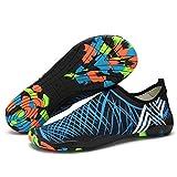 Ali-King Verano Zapatos de Agua para Natación Vela Snorkel Buceo Wakeboarding Surf y Deportes acuáticos Escarpines Chanclas Sandalias para Hombre y Mujer