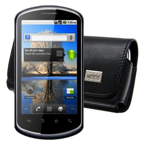 Original MTT Quertasche fuer / Huawei U8800 IDEOS X5 / Horizontal Tasche Ledertasche Handytasche Etui mit Clip und Sicherheitsschlaufe*