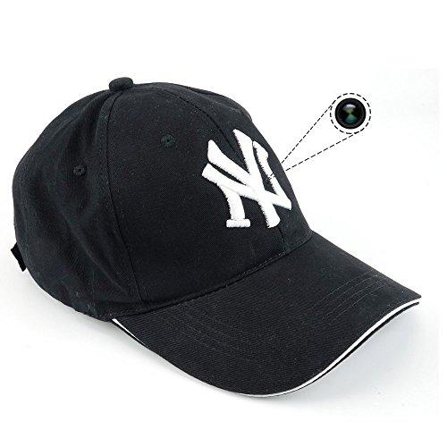 TenSky 8GB 1920x1080P HD Spion Kamera Baseballmütze Draussen Sport Hut Tragbar Aktion DV Camcorder mit Audio Video Aufzeichnung (Autos Kamera Geheimen Für)