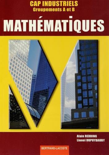 Mathématiques CAP Industriels