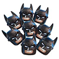 American Greetings Lego Batman Paper Masks Banner, Multicolor, 8-Count