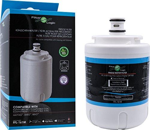 FilterLogic FFL-161M Wasserfilter ersetzt Aqua-Pure 4830310100 - 4346610101 Filter für Beko , Blomberg, Privileg, Maytag Kühlschränke