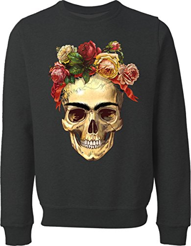 Death Rose Black Sweater (XL)
