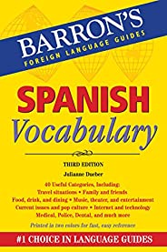 Spanish Vocabulary (Barron's Vocabul