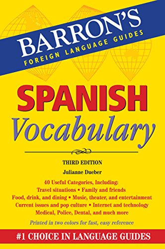 Mastering Spanish Vocabulary: Barron's Foreign Language Guides (Barron's Vocabulary)