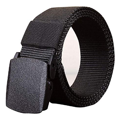 Tomatoa Gürtel für Herren Militär Taktische Gürtel Atmungsaktiv Canvas Stoffgürtel Outdoor Gürtel Canvas Belt Jeans Gürtel -