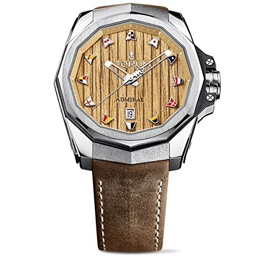 Corum Men's Admiral AC-ONE 45 45mm Brown Automatic Watch 082.500.04/0F62 AW01