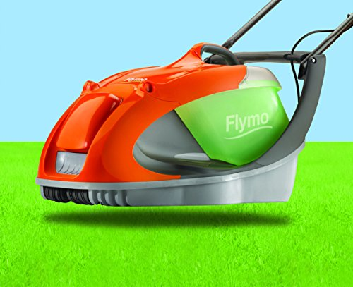 Flymo Glider 330 Electric Hover Collect Lawnmower 1450 W – 33 cm