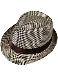 Amazon.co.uk  Fedoras   Trilby Hats - Hats   Caps  Clothing 08a22a32ae81