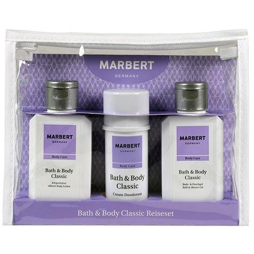 Marbert Bath & Body Classic Pflegeset 100ml+40ml+100ml