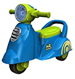 #3: Ez' Playmates Fab N Funky Baby Ride On Italian Scooter Blue