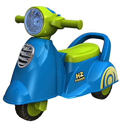 Ez' Playmates Fab N Funky Baby Ride On Italian Scooter Blue