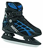 Roces, Pattini da ghiaccio Uomo T Ice 10, Nero (Black-blue), 49 immagine