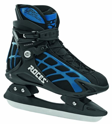 Roces Herren Schlittschuhe T Ice 10, Black-Blue, 49, 450569-001