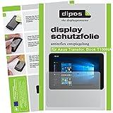 dipos I 2X Schutzfolie matt passend für Asus Transformer Book T100HA Folie Displayschutzfolie