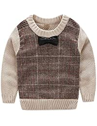 3a85bedace8f Amazon.co.uk  Brown - Knitwear   Boys  Clothing