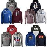 JACK & JONES Kapuzenpullover 3er Pack Hoodie Sweat Shirt Herren Baumwollmix S M L XL XXL (L, 3er Paket X 38)