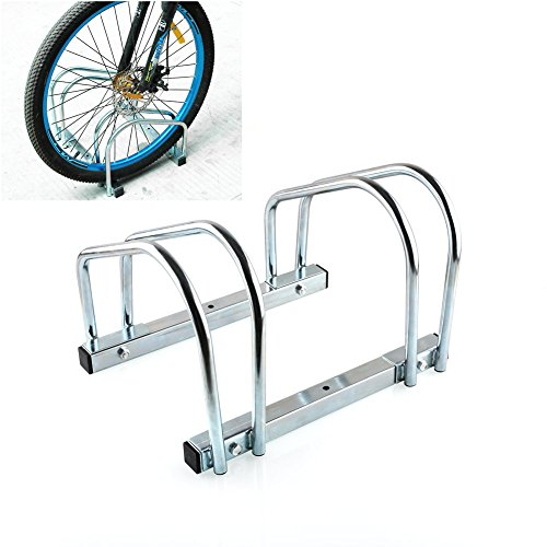 femor Vélo Support sol Parker Multiprise pour 2 fahrräde Support Twin Bicycle Stand