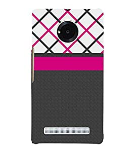 Amazing Pattern 3D Hard Polycarbonate Designer Back Case Cover for YU Yunique