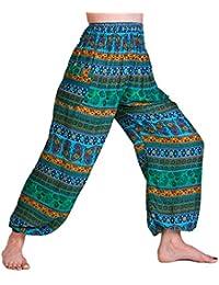 AUSVERKAUF Aladin Muck Pants, 'A02', passt S bis M, aus feiner Naturviskose, in vielen Farbvariationen, mit 2 Taschen