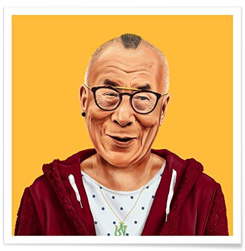 JUNIQE® Poster 50x50cm Politische Figuren Pop Art - Design