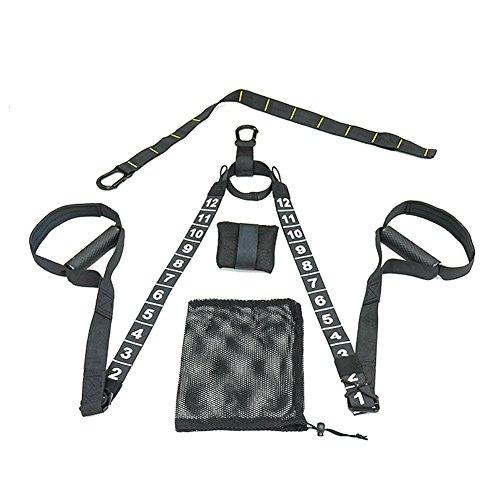 Mia nbaoshu ad alte prestazioni Sling Trainer/Ultraleggero e resistente Sling Trainer/Suspension Trainer/Una varietà di Metodi di allenamento, Fitness di modellazione ovunque e in qualsiasi momento