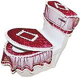 Edles Badezimmer WC Mat Schöne WC Mat-03(Set von drei)