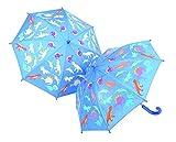 Thinkpink Regenschirm Dinosaurier für Kinder - farbwechselnd