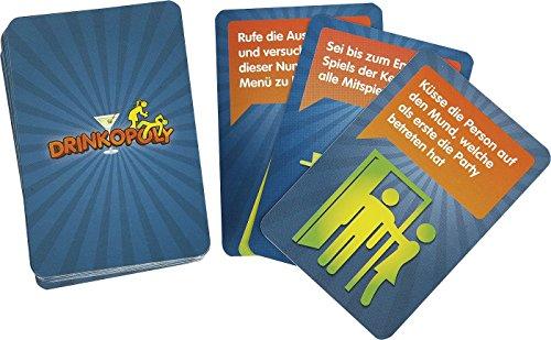Drinkopoly Zusatzkarten Trink-Spiel Standard