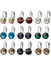 Jewels Galaxy Copper Clip-On Earrings for Girls (Multi-Colour)(CB-BLL-4521)