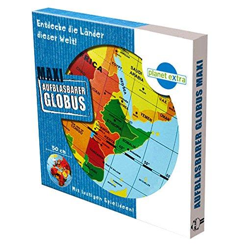 Caly 76112 - Aufblasbarer Globus Maxi, Spiele und Puzzles