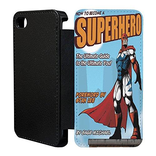 DC Marvel Comic Book Étui à rabat pour Apple iPhone 5& 5S–