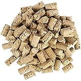 Lot de 100 bouchons à vin en forme de cœur pour les loisirs créatifs - En liège naturel - 4,5 cm de long - Diamètre 2,4 cm cl