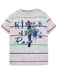 d083d12a8 Mayoral Camiseta Manga Corta Rayas Fantasia Bebe niño Modelo 1030