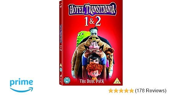 Hotel Transylvania 1-2 [DVD]: Amazon co uk: Adam Sandler
