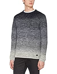 Jack & Jones Jorfuel Knit Crew Neck Camp, Pull Homme