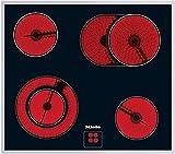 Miele KM 6013 Elektro-Kochfeld / Glaskeramik / Breite: 57.4 cm / HiLight-Beheizung / Restwärmeanzeige