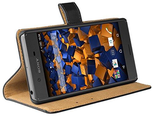 mumbi Tasche im Bookstyle für Sony Xperia X Tasche