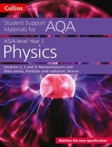 AQA A level Physics Year 1 & AS Sections 1, 2 and 3 (Collins Student Support Materials)