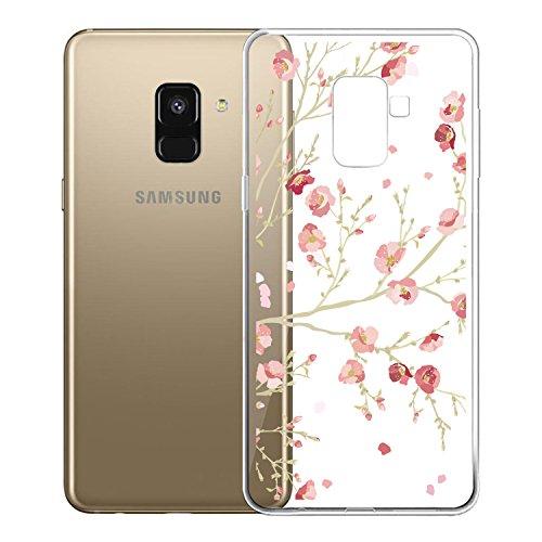 AROYI Samsung Galaxy A6 2018 Hülle Silikon, Transparent Handyhülle Schutzhülle TPU Clear Case Backcover Bumper Löschen Slimcase Etui Tasche für Samsung A6 2018