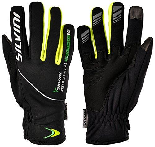 SILVINI ORTLES Softshell Handschuhe Herren Black/Forest L