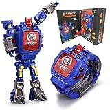Juguete Reloj Transformers Juguetes Niños 2 en 1 Transformadores...