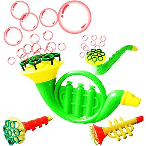 Ocamo Burbujas de Jabón Que soplan el Agua Bubble Soap Bubble Blower Niños al Aire Libre Juguetes para niños